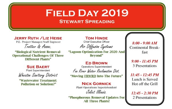 Field Day September 18th 2019