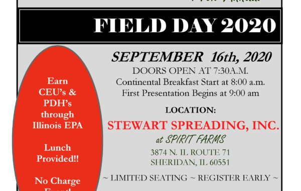 Field Day September 16th 2020