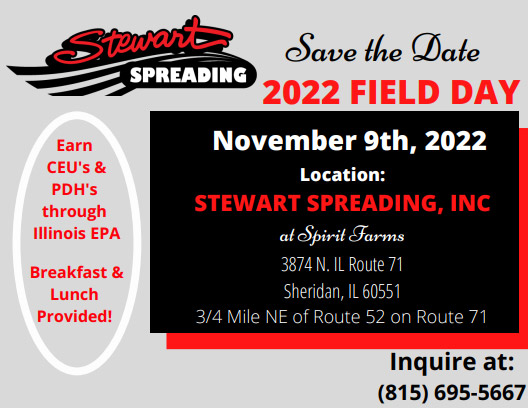 Save the Date – Field Day November 9th, 2022